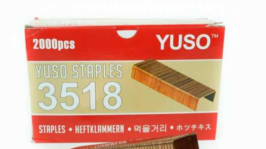 Pengemasan karton/kardus menggunakan Staples dan Lakban (Tape)