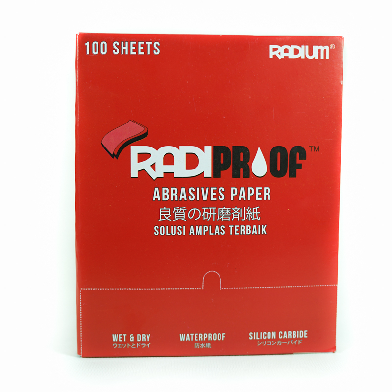 Amplas Duco Radiproof Merah by Radium