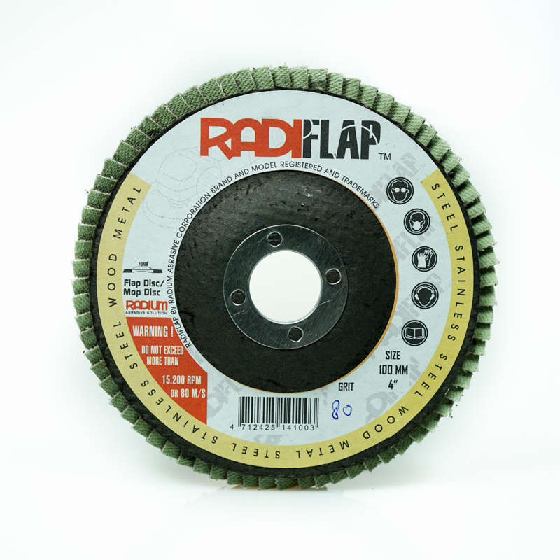 Amplas Susun Flap Disc RadiFlap by Radium
