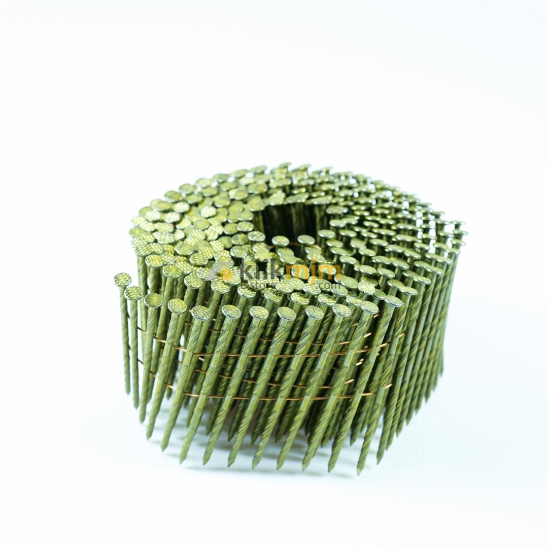 Paku Tembak Coil Nail 2.5 mm x 7.5 cm Ulir YUSO