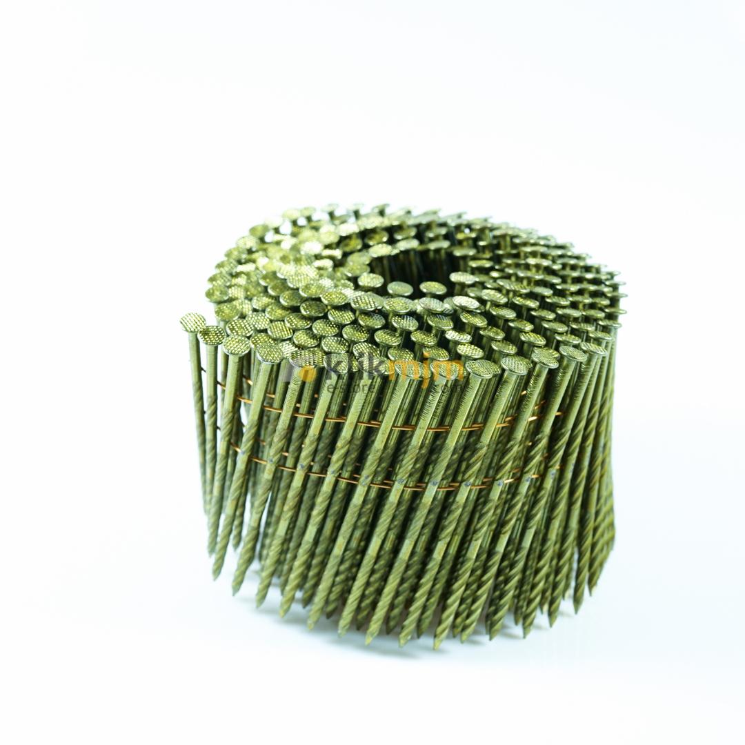 Paku Tembak Koil / Coil Nail 3.1 mm x 9 cm Ulir YUSO