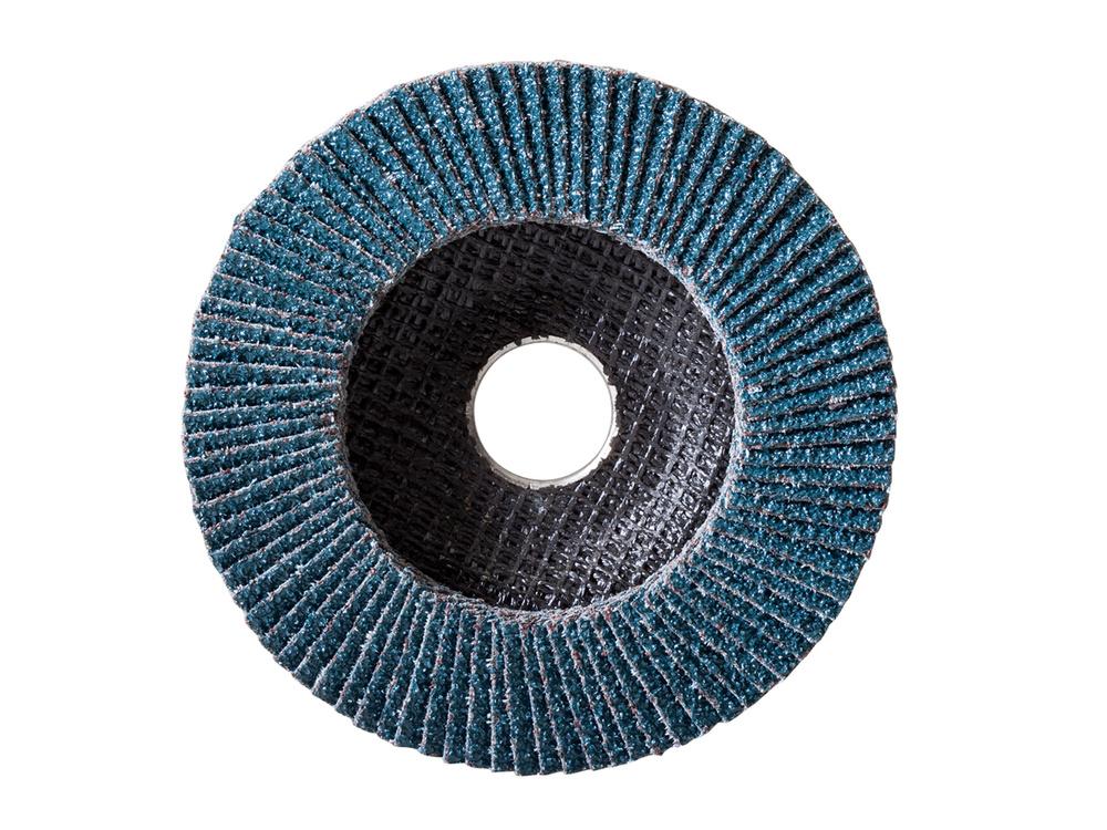 Amplas Bulat Flap Disc RADIFLAP Zirconia Biru Untuk Besi / Baja by Radium